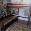 Продам кровать 2-ярусную, угловую, б/у в Пинске