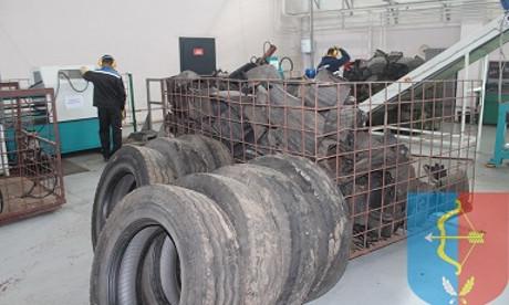 В Пинском районе заинтересовались матами изготовленными из переработанных шин