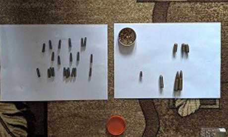 Пинчанин обнаружил в квартире отца арсенал боеприпасов