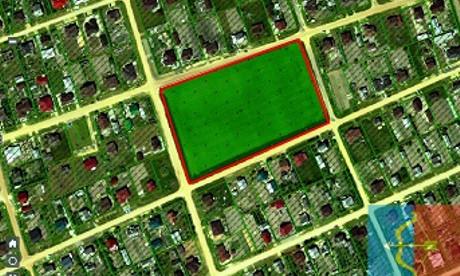 Три земельных участка в пригородной деревне Галево Пинского района выставлены на аукцион