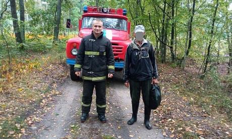 В Пинском районе помощь спасателей понадобилась грибнику в лесу